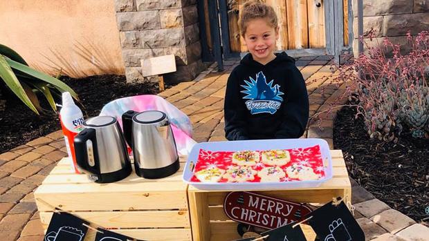 Usaha Katelynn Hardee, Bocah 5 Tahun Yang Mengharukan