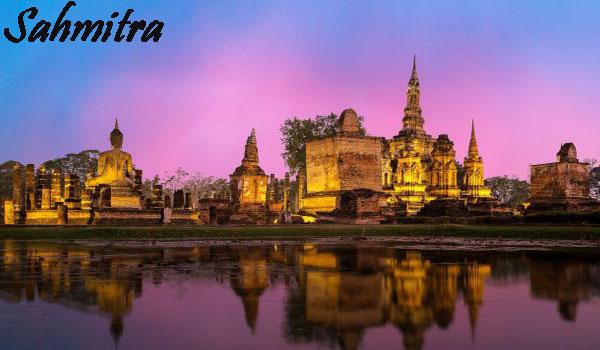 Mabuk Parah! Seorang Turis di Thailand Telanjang hingga Panjat Kuil Buddha