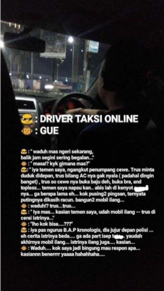 HOT! Tanpa Izin Langsung Membuka Bra dari Driver Online