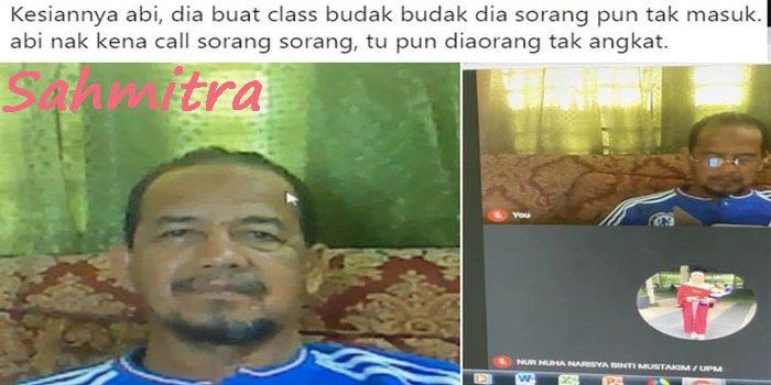 Guru Malaysia Senang Akhirnya Bisa Buat Kelas di Zoom, Tak Ada Murid yang Hadir