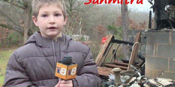 Bocah 7 Tahun, Melompat dari Jendela Selamatkan Adiknya dari Kebakaran
