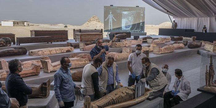 Mesir Temukan Peti Mati Kuno Lagi, Diklaim Temuan Terbesar 2021